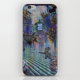 Mundus Est Fabula - The World is a Story iPhone Skin