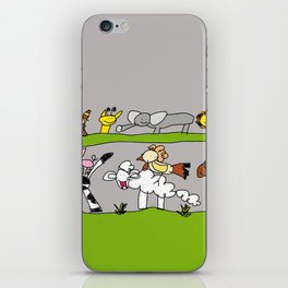 CuteAnimals iPhone Skin