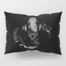 Aliens Here Pillow Sham
