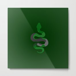 The Multicolor Slytherin Metal Print