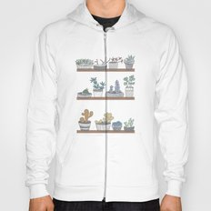 Quirky Succulents Hoody