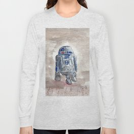 Robot R2D2 Long Sleeve T-shirt