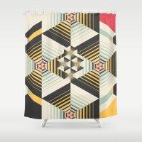 la Shower Curtains featuring La Plus by Danny Ivan