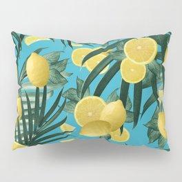 Summer Lemon Twist Jungle #4 #tropical #decor #art #society6 Pillow Sham