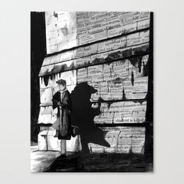 Dark Passenger Canvas Print