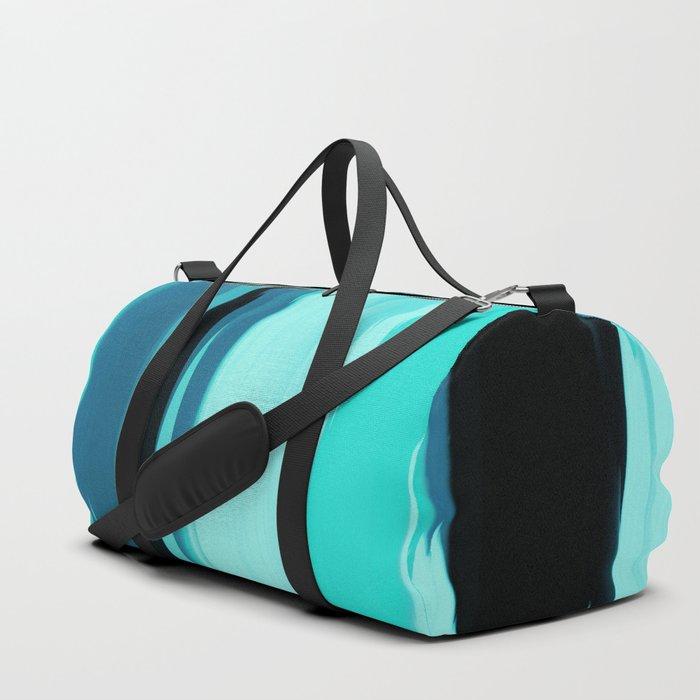 Soft Determination Aquamarine Duffle Bag