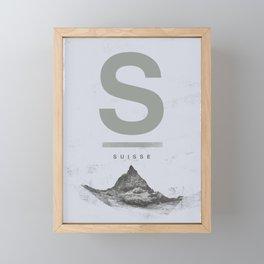 Suisse Framed Mini Art Print