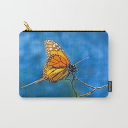 BUTTERFLY LIGHT Carry-All Pouch