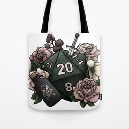Rogue Class D20 - Tabletop Gaming Dice Tote Bag