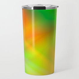 Abstract Iridescent Water Travel Mug