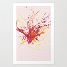 Dancing Fly Art Print