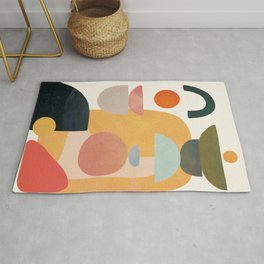 Modern Abstract Art 70 Rug