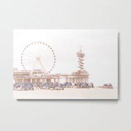 The Scheveningen Pier - The Hague Beach Metal Print