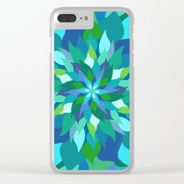 Healing Leaves Clear iPhone Case