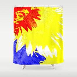 Flora Abstracta Shower Curtain