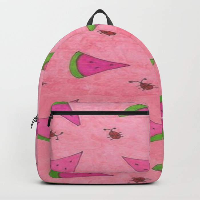 Watermelons and Lady Bugs Backpack