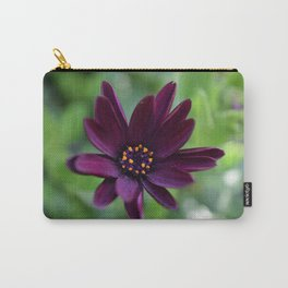 Purple Osteospermum Flower (Marco Close-Up) Carry-All Pouch