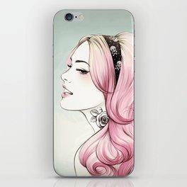 Pink Dye iPhone Skin