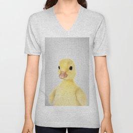 Duckling 2 - Colorful Unisex V-Neck