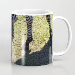 Zebra Munching Coffee Mug