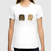 bread T-shirts featuring Slice! by Teo Zirinis