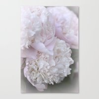 peonies Canvas Prints featuring Peonies by DuniStudioDesign