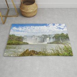 Waterfalls Landscape at Iguazu Park Rug