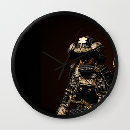 Samurai Armor Wall Clock
