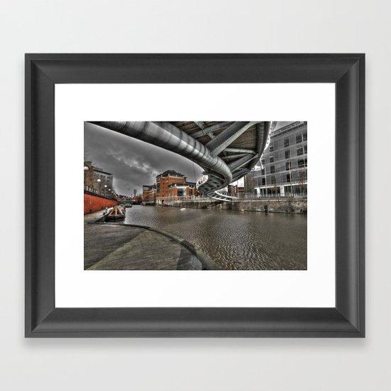 Temple Quays  Framed Art Print