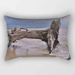Drift Wood Beach 6 Rectangular Pillow