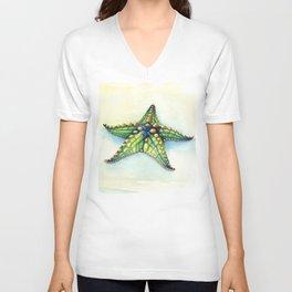 Horned Sea Star Unisex V-Neck
