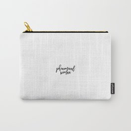 Phenomenal Woman, Woman Quote, Girl Quote Carry-All Pouch