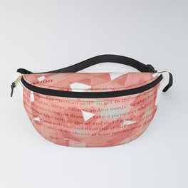 brush type Fanny Pack