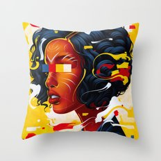 Expressions III Throw Pillow
