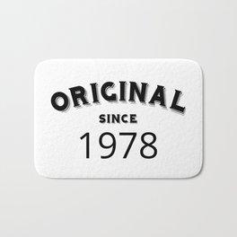 ORIGINAL | 1978 Birthday Shirt Bath Mat