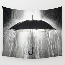 Rain Down Wall Tapestry