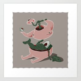 LUNDUN guide - Toconoco Art Print