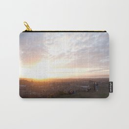 Salisbury Crags overlooking Edinburgh at sunset 2 Carry-All Pouch
