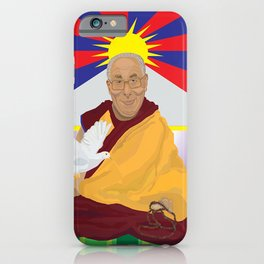 His Holiness iPhone Case