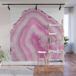 Soft Pink Agate Dream #1 #gem #decor #art #society6 Wall Mural