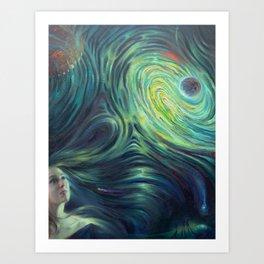 """Galactic Glory"" Art Print"