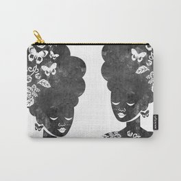 Queen of the Butterflies Carry-All Pouch