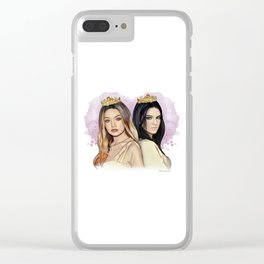Gigi Hadid & Kendall Jenner Clear iPhone Case