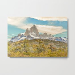 El Chalten, Patagonia, Argentina Metal Print