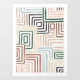Maize Art Print