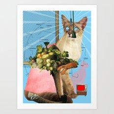 KatzenJammer 4 Art Print