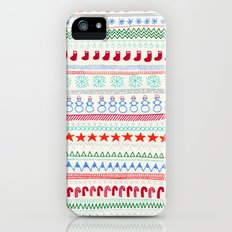 Christmas Doodles Slim Case iPhone (5, 5s)