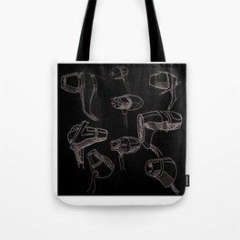Earbud Pattern Tote Bag