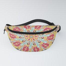 Mandala Boho Style Fanny Pack