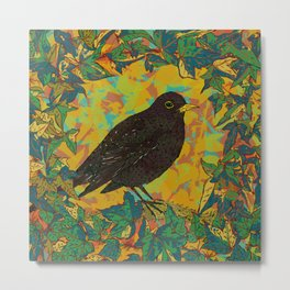 Blackbird and Ivy Metal Print